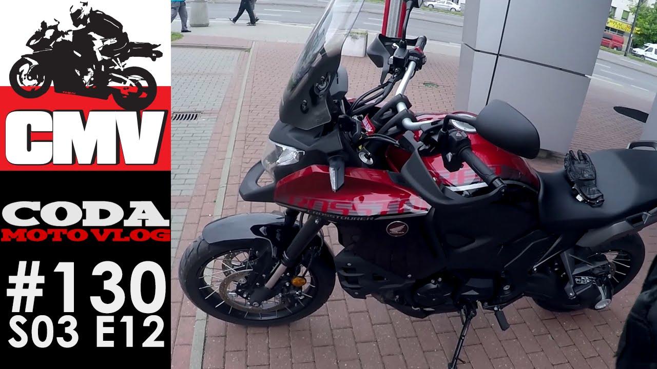 CMV#130: Honda VFR1200X Crosstourer (DCT ABS) pierwsza jazda - CODA MV