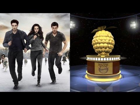 'Breaking Dawn Part 2' Dominates Razzie Awards