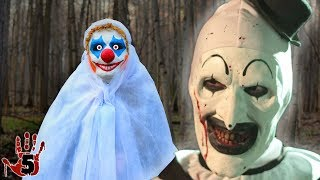 Top 5 Creepy Clown Sightings Caught On Camera