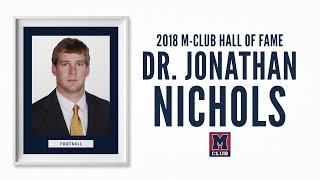 2018 M-Club Hall of Fame - Jonathan Nichols