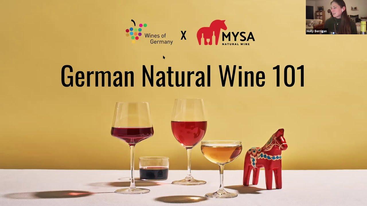 German Natural Wine 101