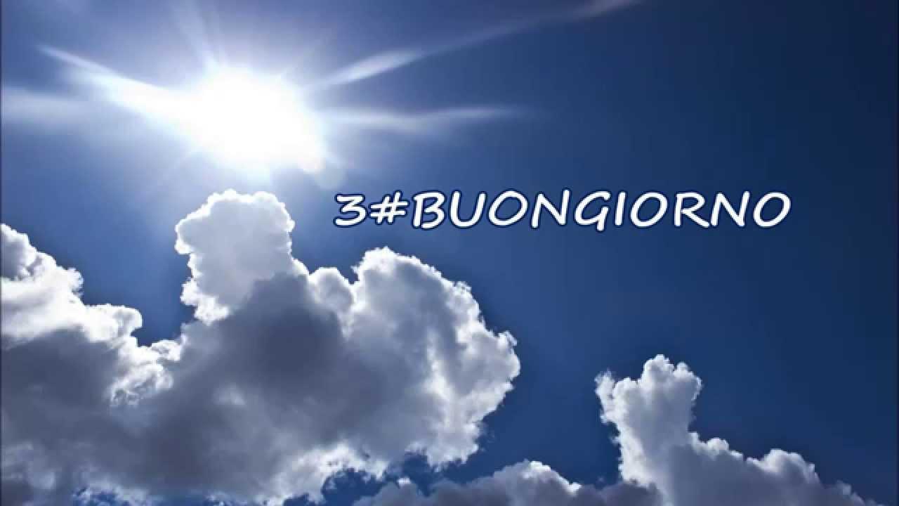 Extrêmement 3#BUONGIORNO (Raggio di sole- Buongiorno amore) - YouTube QX24