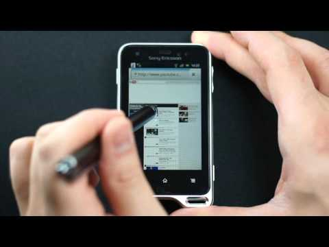 Sony Ericsson Xperia active - internet, GPS - part 2