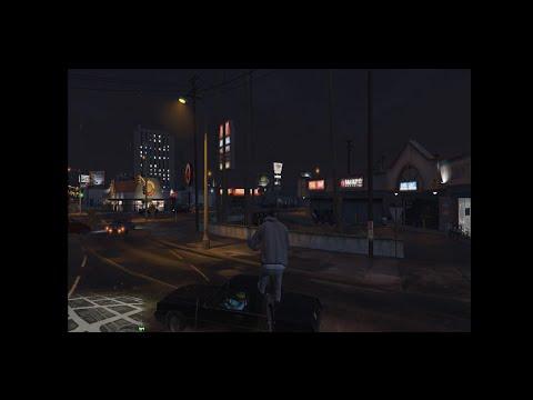 GTA5(GTAV) - Crazy and Murderer Cyclist -  Killer Franklin !