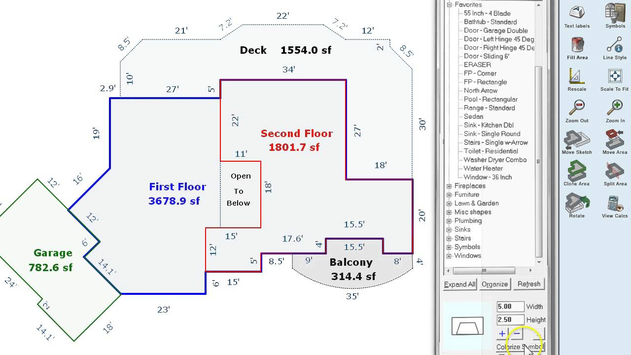 Apex Sketching Software For Real Estate Appraisers  How To