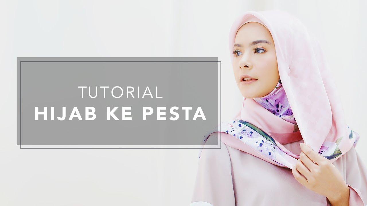 5 Tutorial Hijab Segi Empat Yang Simpel Hingga Syar I