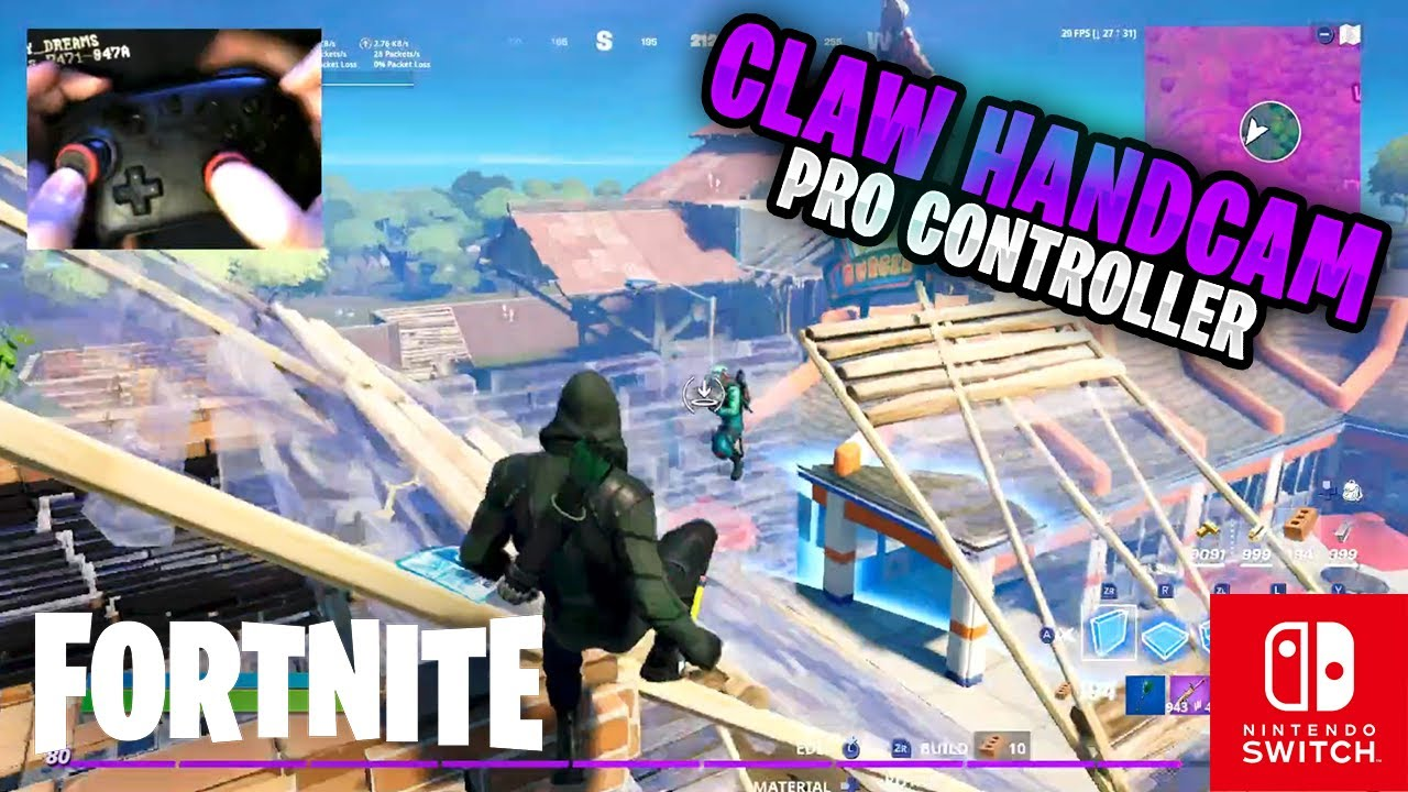 Fortnite on the Nintendo Switch Pro Controller #247