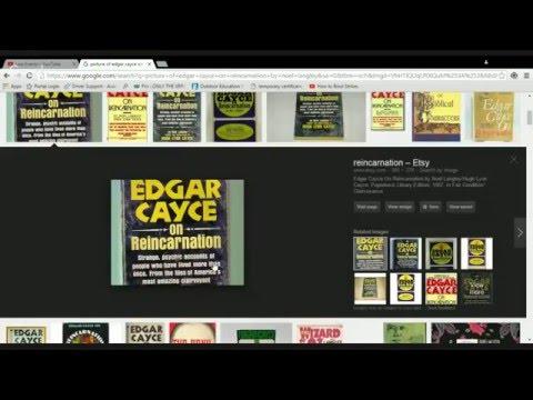Edgar Cayce on Reincarnation.... my journal