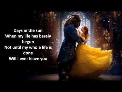 Days in the Sun Lyrics - Beauty and the Beast 2017
