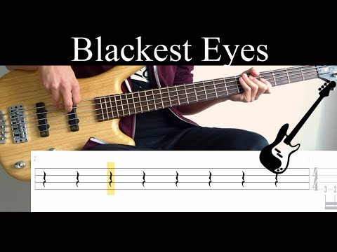 blackest-eyes-(porcupine-tree)---(bass-only)-bass-cover-(with-tabs)