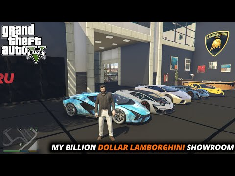 GTA 5 : MY BILLION DOLLAR NEW CAR SHOWROOM