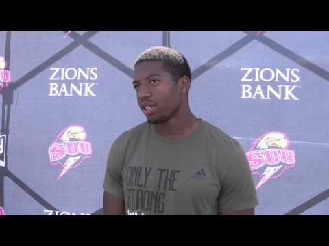LeShaun Sims Pro Day Interview & Highlights