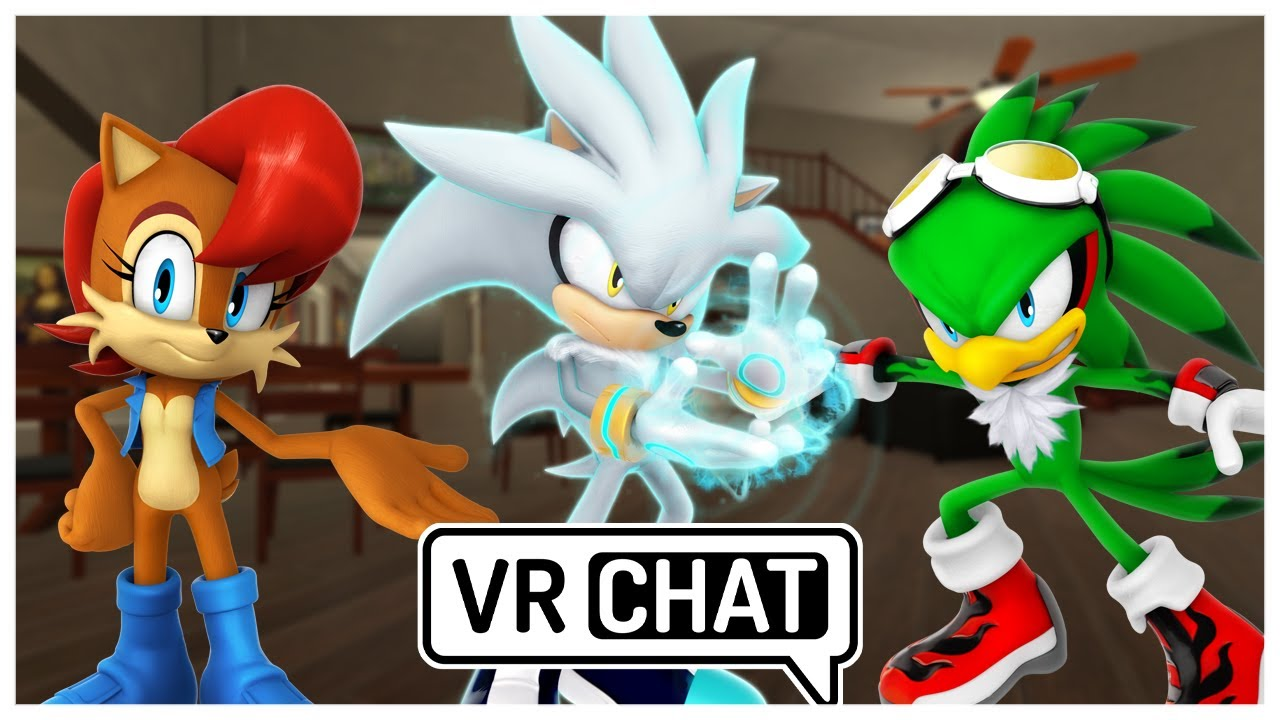 Silver & Sally Meet Jet (VR Chat)