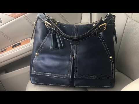 Dooney & Bourke - Bag of the Day (Kingston Hobo - Marine)