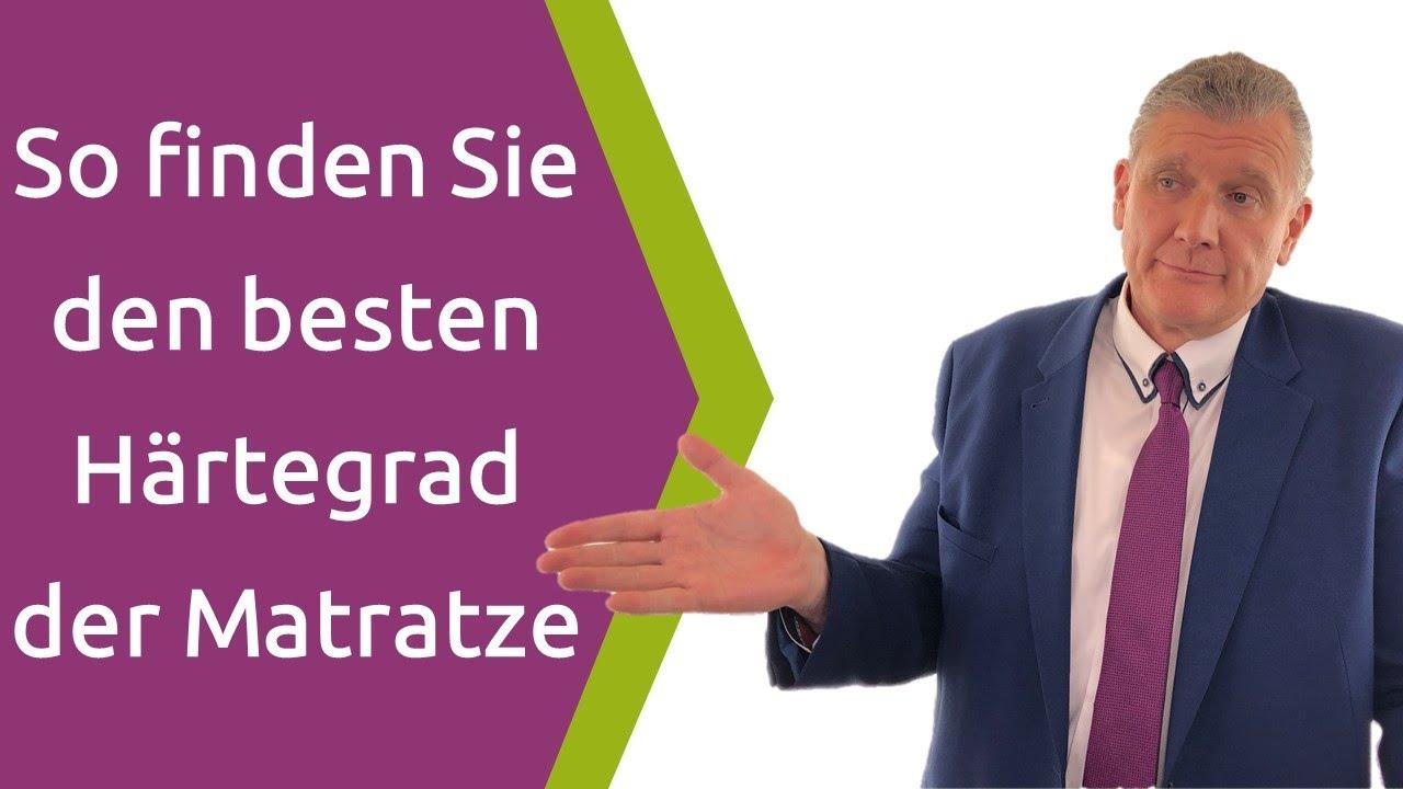 Härtegrad Der Matratze Welcher Härtegrad Ist Für Meine Matratze Der Richtige Test 2019