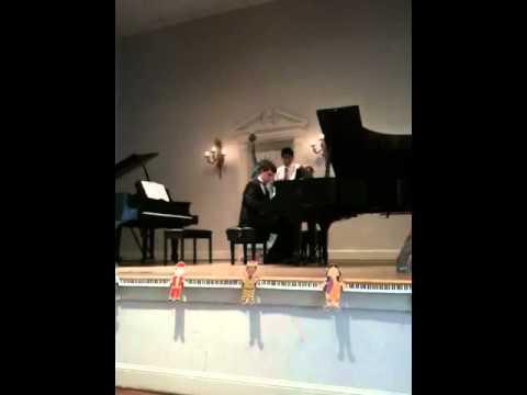 Adam's Waltz Parisienne 2012 Recital