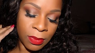 LimeCrime Red Velvet... Review and Tutorial