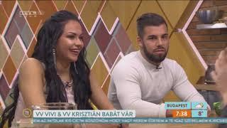 VV Vivien és VV Kriszitán Reggeli szereplése 2019. 03. 11. I Radiccsal égetik