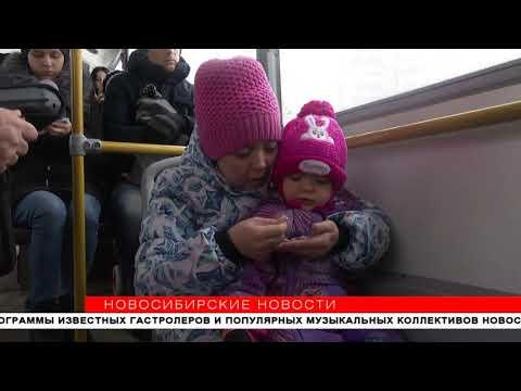 Новосибирские автобусы избавят от гонки за пассажирами