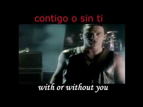 U2  With Or Without You Subtitulado Español Ingles