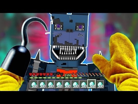Realistic Minecraft - BECOMING FNAF GOLDEN FOXY !? - (Minecraft Roleplay)