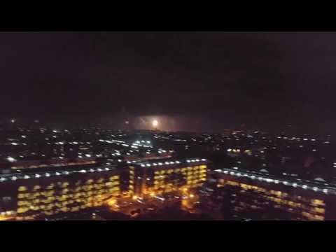New Years Eve fireworks Manila 2017