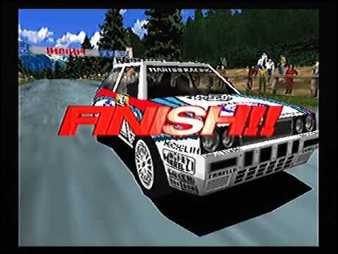 Sega Rally Championship1995 PS2