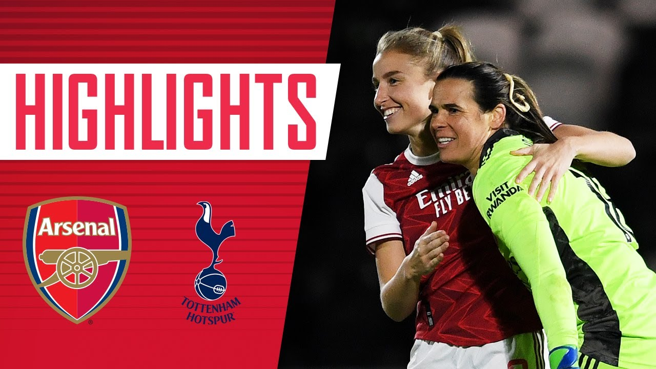 HIGHLIGHTS | Arsenal vs Tottenham Hotspur (2-2, 5-4 on penalties) | Continental Cup