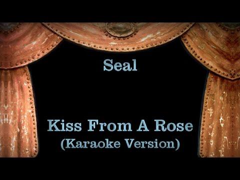 Seal - Kiss From A Rose - Lyrics (Karaoke Version)