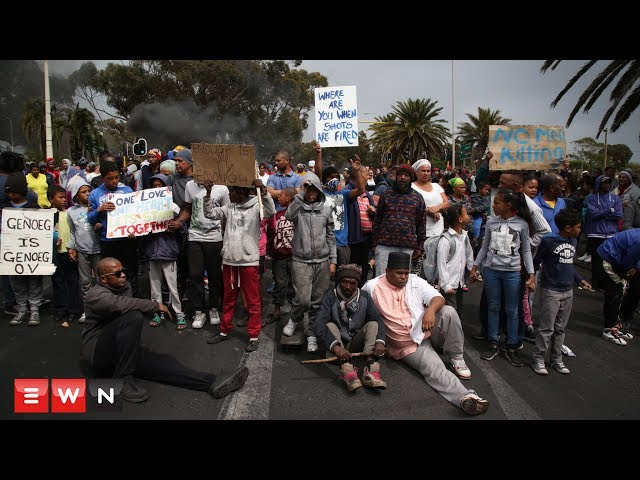 Ocean View residents clash with police