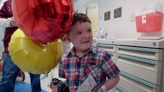 St. Jude patient Matthew dreams of baseball while fighting cancer