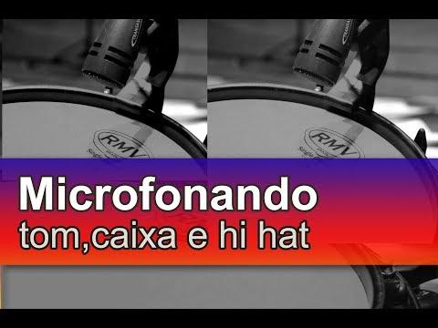 Dica Rápida com Marcelo Malta - Microfonando tom caixa e hi hat