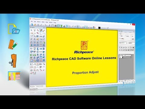How To Add Design Line To Pattern In Richpeace Garment Pattern Software Youtube