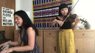 "Isabella and Francesca cover ""Family Business"" by Dengue Fever"
