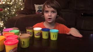 Playdough Guessing Game!!   ToyBox TV first video!!