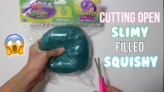 CUTTING OPEN SLIME STRESS BALL SQUISHY FROM FIVE BELOW!