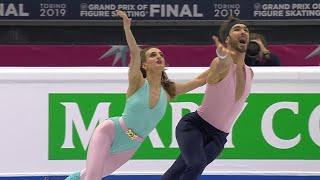 Ритм-танец. Танцы. Финал Гран-при по фигурному катанию 2019/20