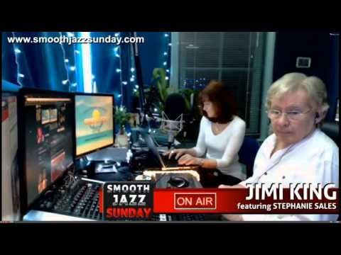 JImi King and Stephany Sales emission Smooth Jazz Live from London 13 12 2015 sunday