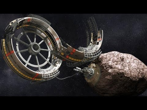 Asteroid Mining w/Robotic 3D Printers