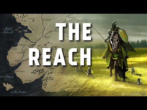 the Reach - Map Detailed (Game of Thrones)