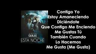 Justin Quiles Ft. Farruko - Esta Noche (Remake) (Letra) 2015