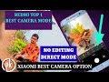Xiaomi Redmi Mobile Top 1 Camera Mode || Camera Hidden Trick || Telugu Pk Creations