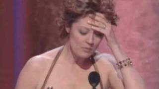 Susan Sarandon winning Best Actress