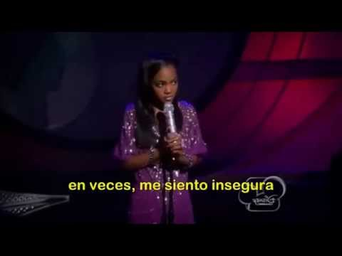 China Anne MCclain-beautiful español
