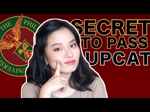 PAANO PUMASA SA UPCAT? DO'S AND DONT'S! (at sa ACET, USTET, DLSUCET)