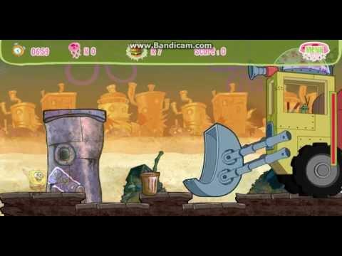 Spongebob's Jellyfishin' Mission : Plankton Boss After Level 3