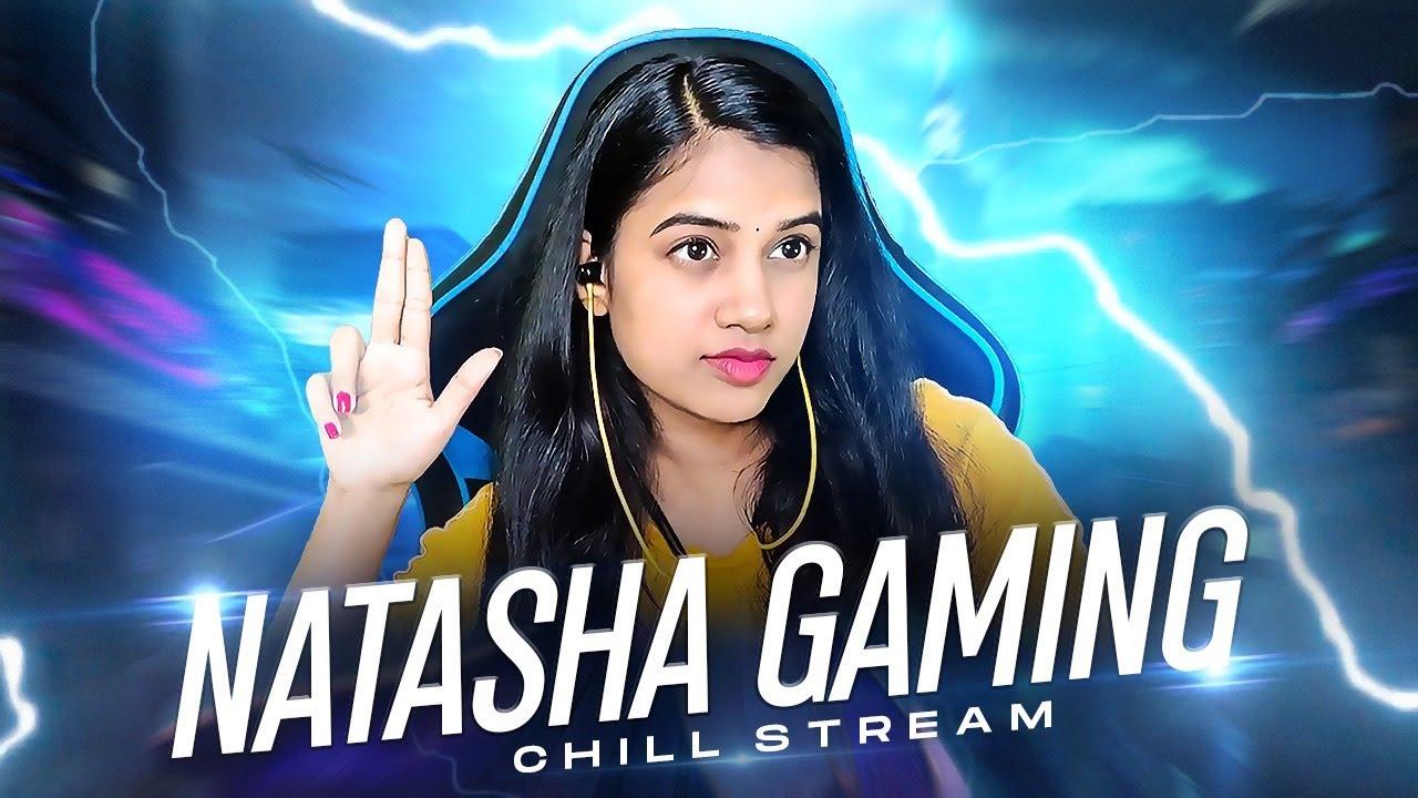 50 RP Giveaway at 400K | Natasha Gaming is Live | #natashagaming  #telugugirlgamer #bgmi