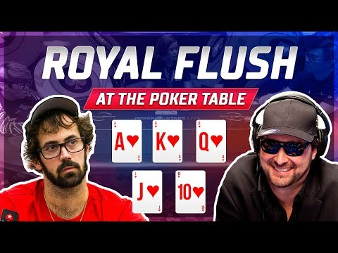 Best Royal Flushes At The Poker Table