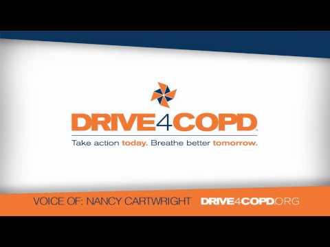DRIVE4COPD NANCY CARTWRIGHT PSA