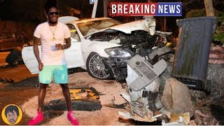 BREAKING NEWS   Aidonia Got Into A Serious Car Accident